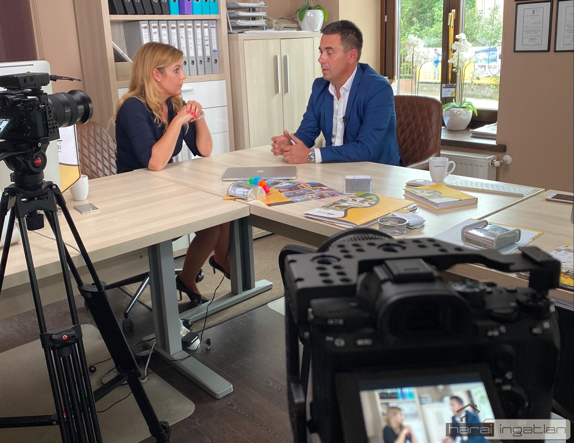 Az agglomeráció ingatlanairól kérdezett a TV2 riportere